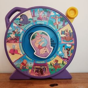VTG Mattel pooh and friends see'n say toy 1989
